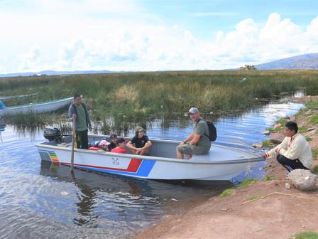 Pérou, le lac Titicaca et les îles Uros : Dimanche 3 Mars 2019