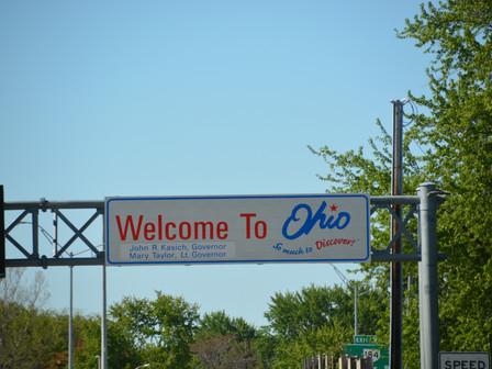 Bref passage dans l'Ohio et Indiana.