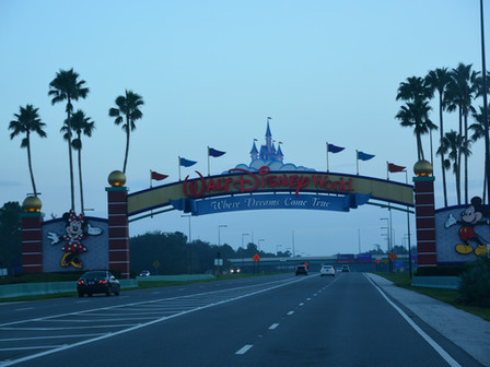 Disney World : Magic Kingdom ( Lundi 17 septembre 2017)