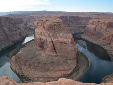 Horseshoe Bend- Le barrage de Glen Canyon Merc 15 et jeudi 16 Novembre 2017
