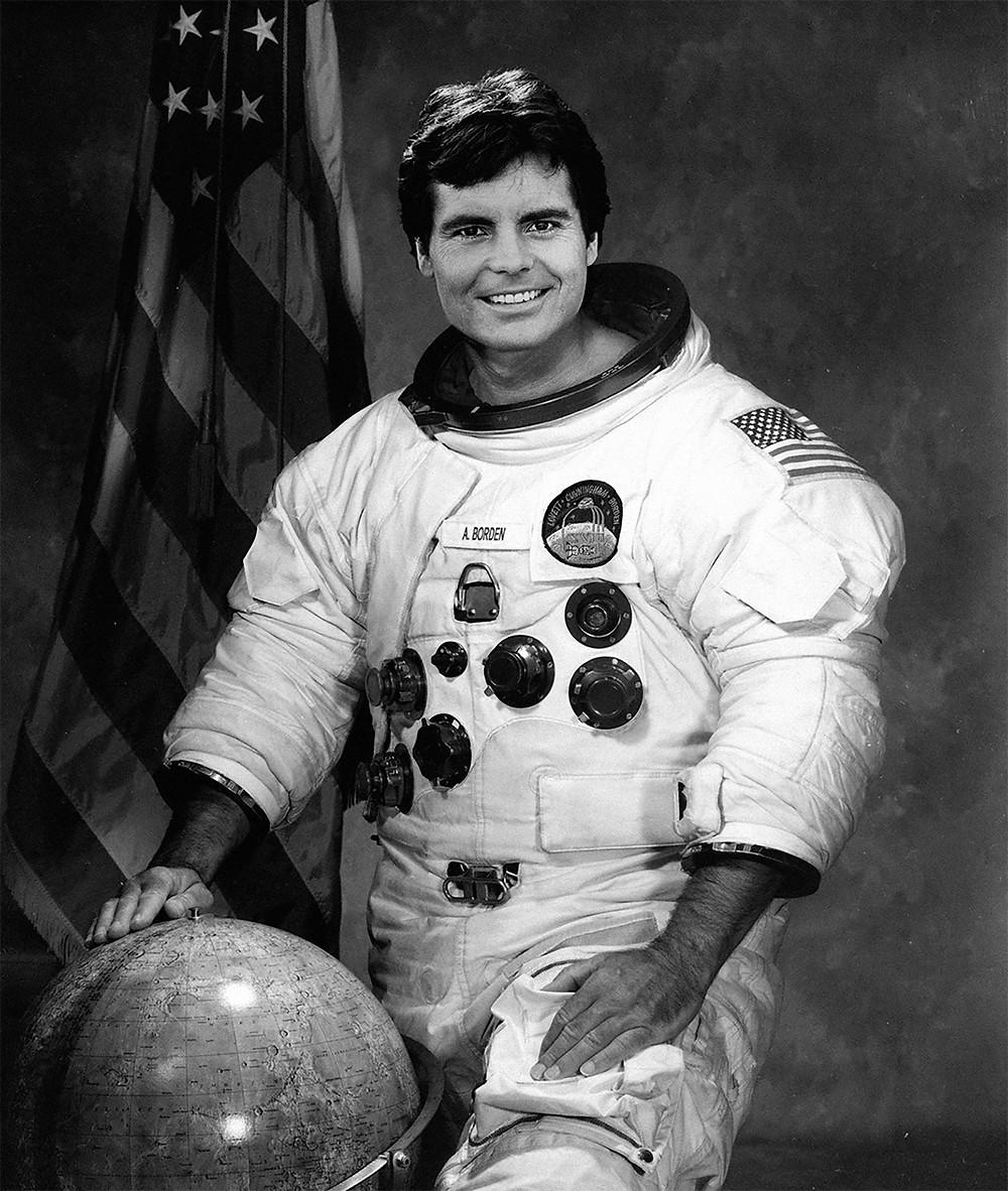 Lunar Module Pilot Al Borden