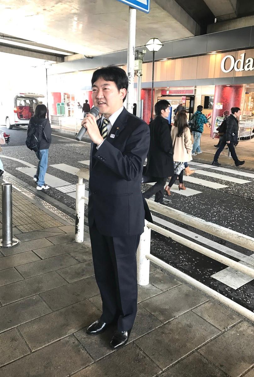 小田博士・同広報局長(市議)