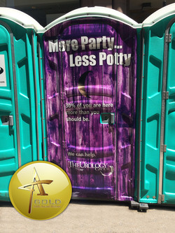 Port-O-Let Ad: Addy Gold
