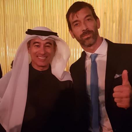 Investire a Dubai: Alessandro Ventura con Mohamed Alabbar CEO di Emaar