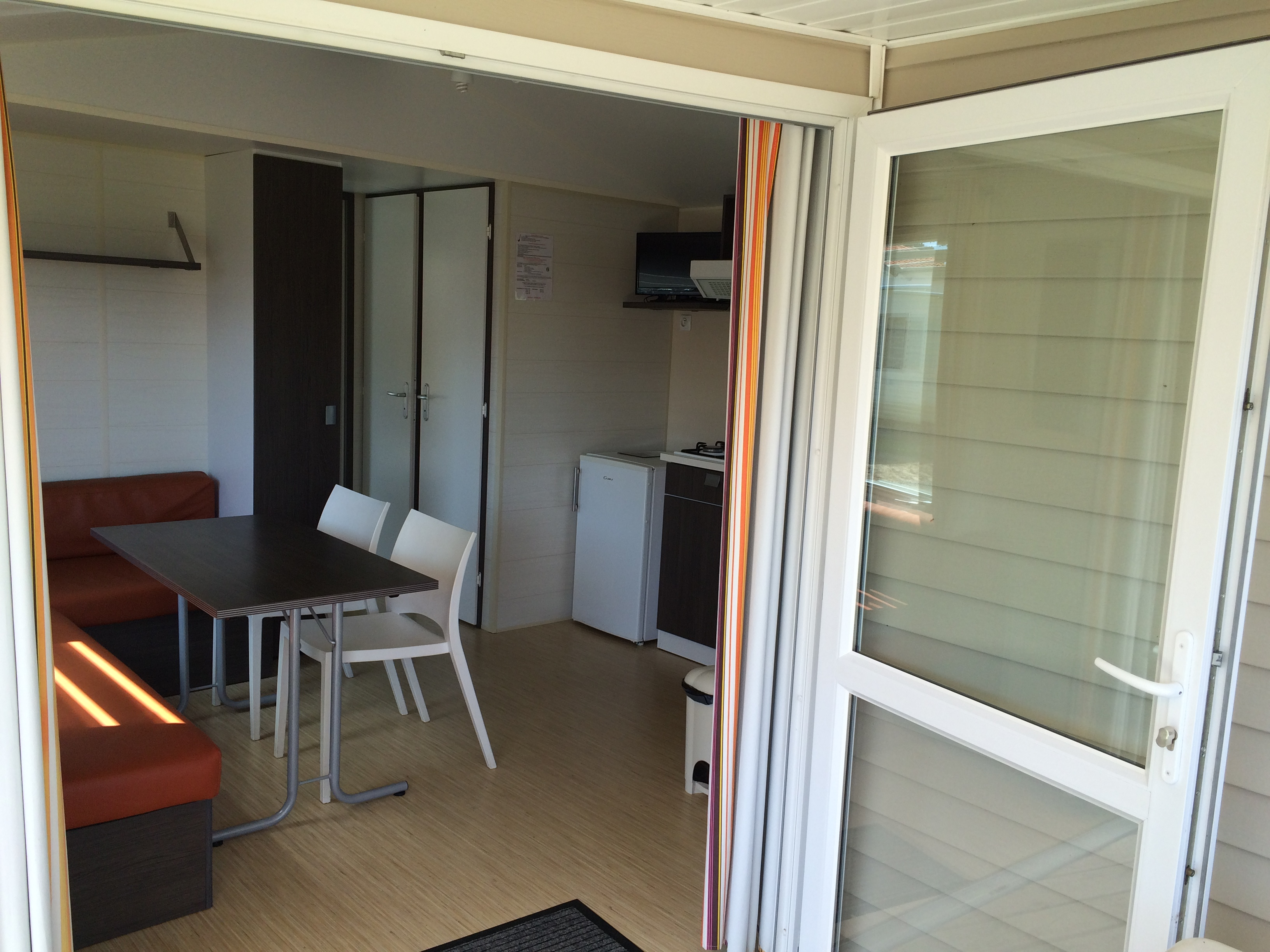 Interieur mobil home 2 chambres