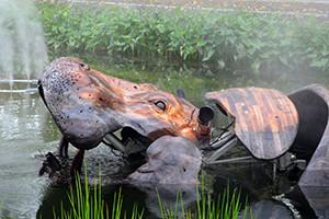 Les animaux de la place - La roche sur yon