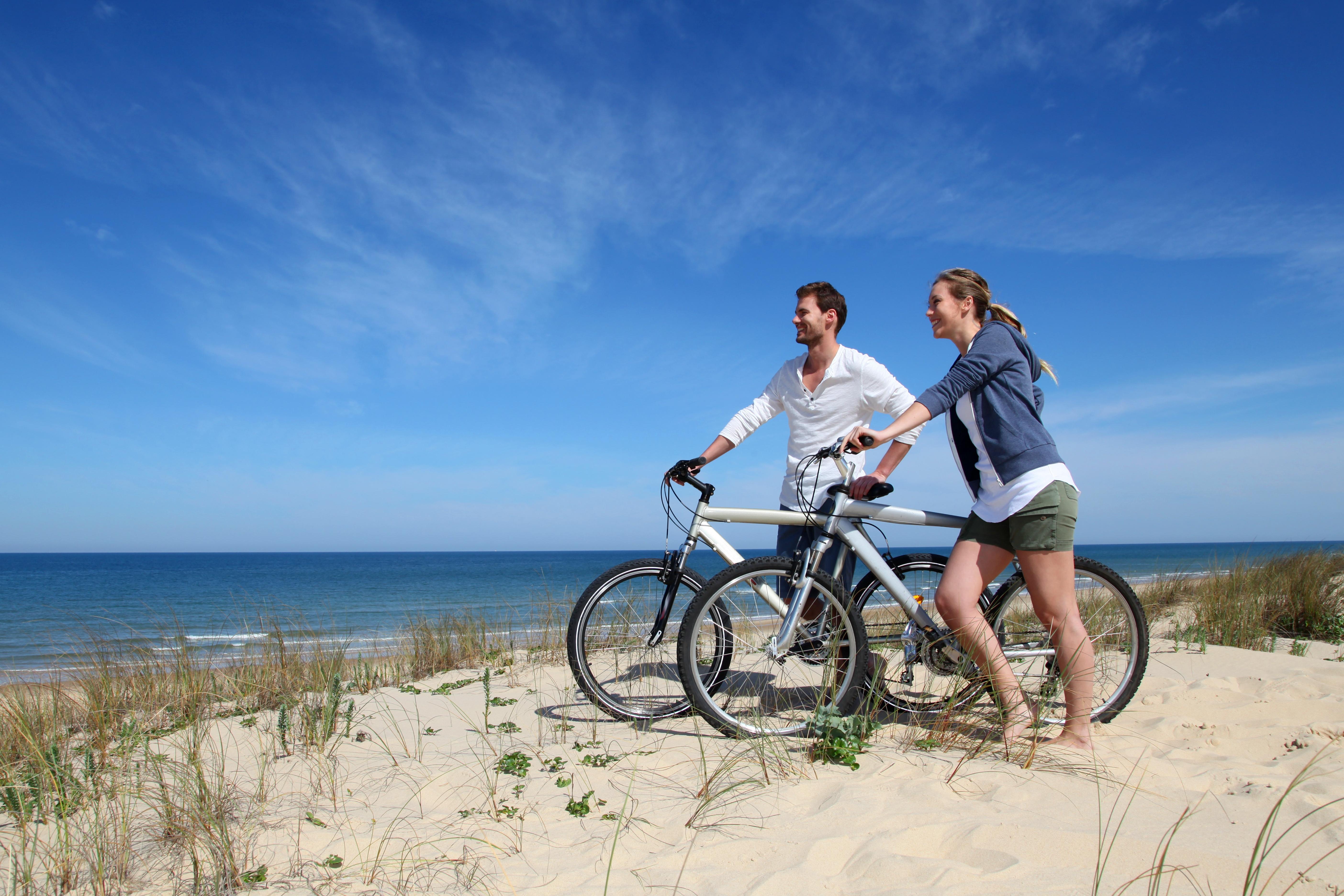 Vélo à la plage