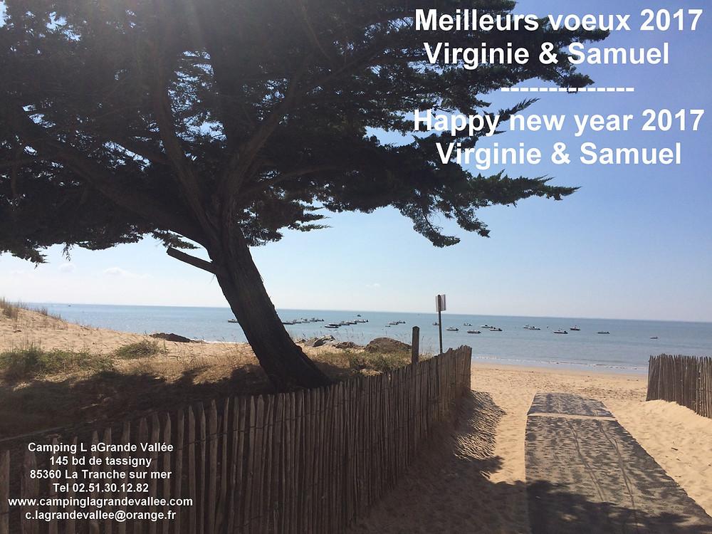 Nous vous souhaitons une excellente année 2017