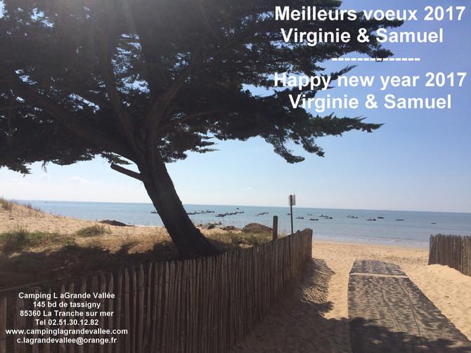 Nous vous souhaitons une très bonne année 2017