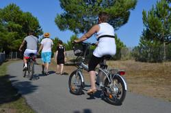 camping accueil vélo la tranche sur mer