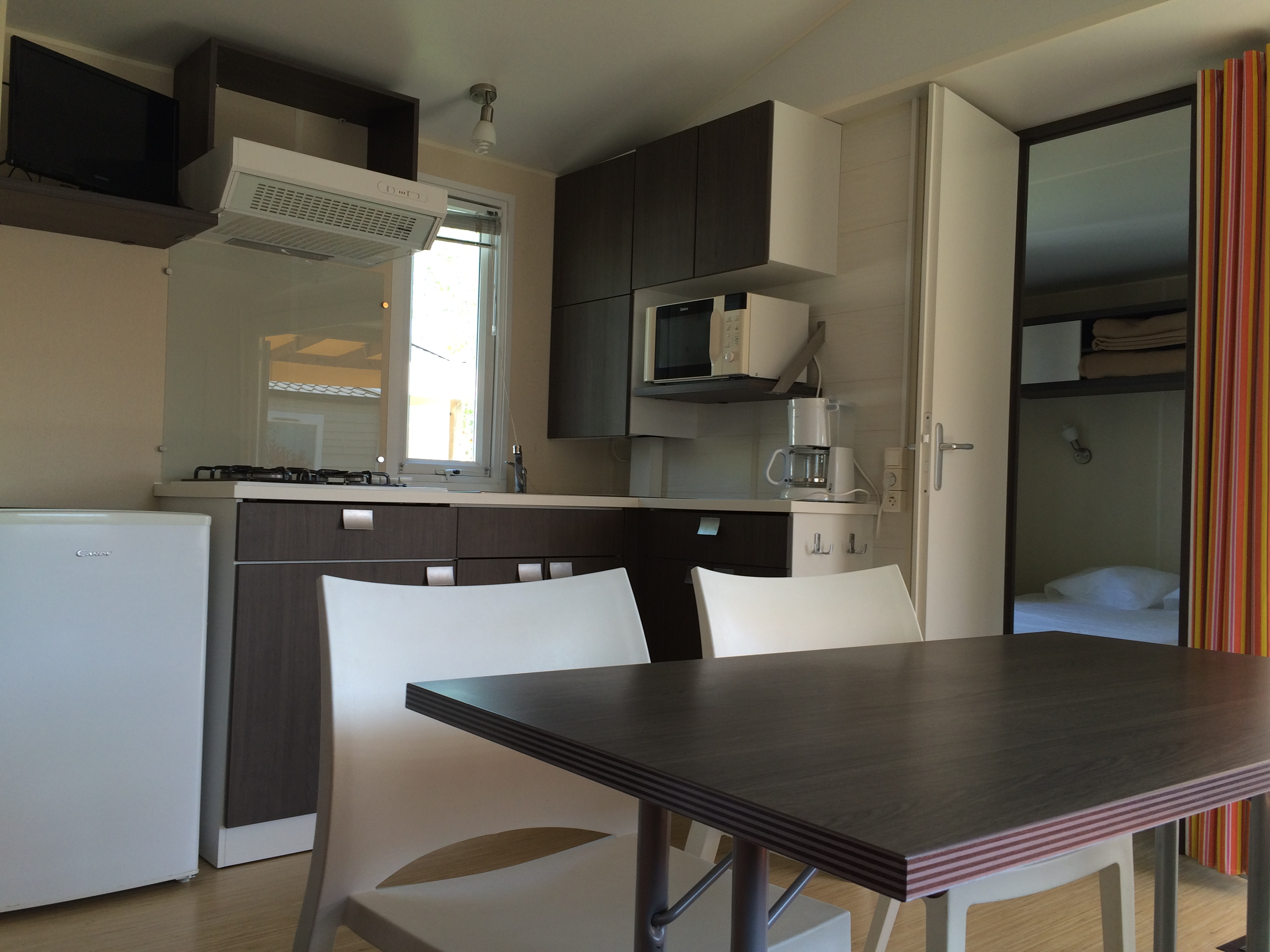 Cuisine mobil home 2 chambres