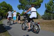 camping accueil vélo la tranche sur mer-