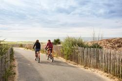 Accueil vélo à la tranche sur mer