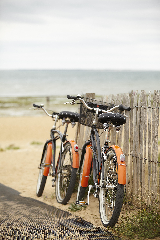 Vélo à la plage de la tranche sur me