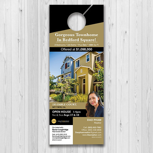 Custom Door Hanger Design
