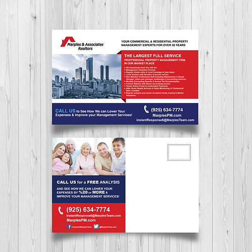 Custom Postcard Design
