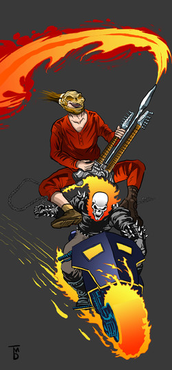 Ghost Rider and The Doof Warrior