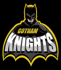 Batman Sports Logo