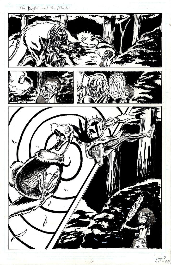 Magic Mirror Comic
