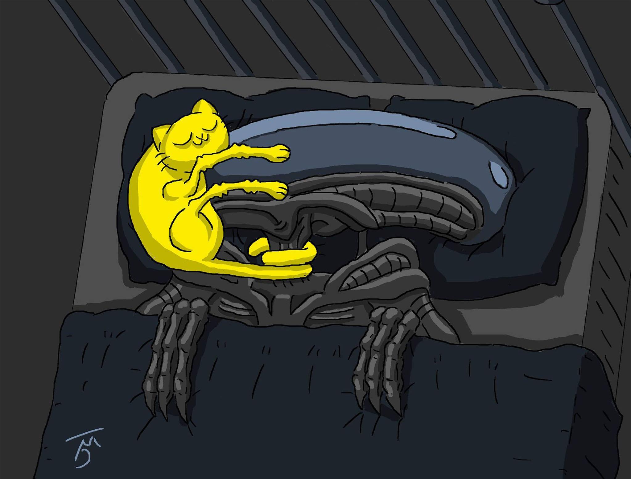Alien's Cat / Halloween Collection