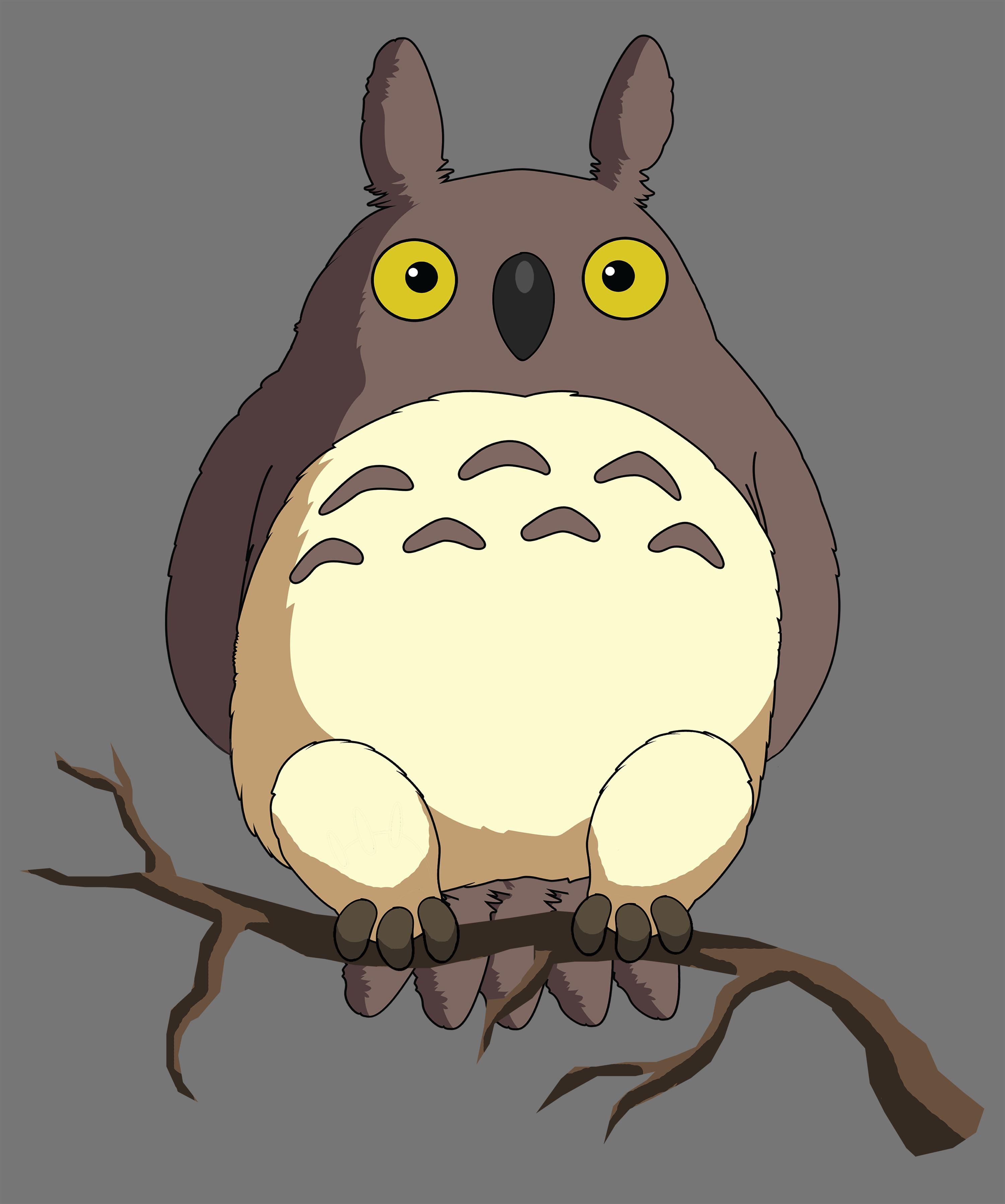 Totoro-owl