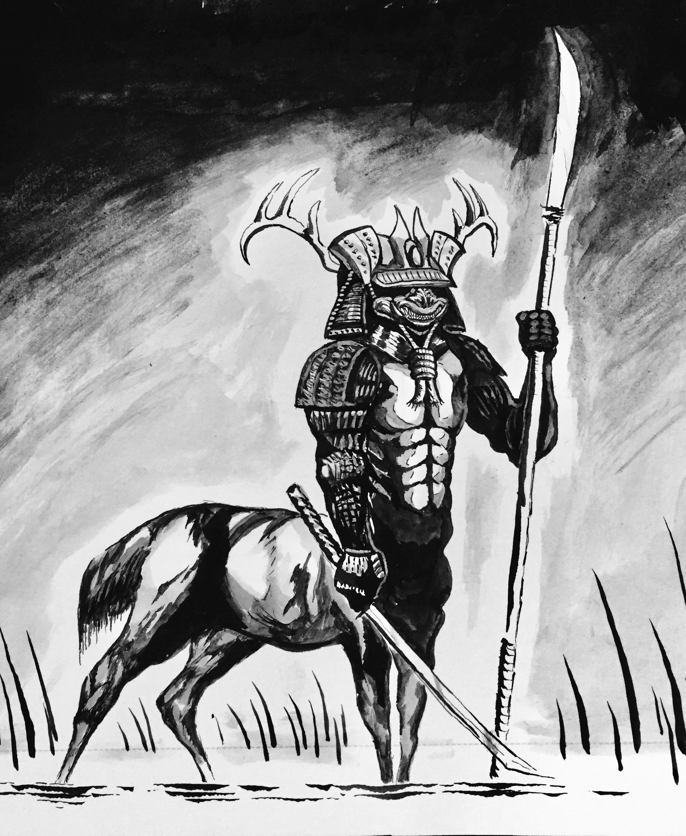 Samurai Centaur