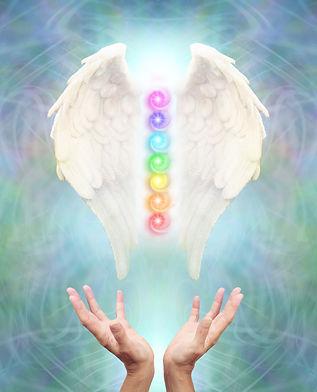 Sacred Angel Chakra Healing - White Ange