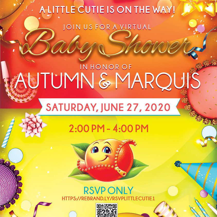 "A ""Little Cutie"" Virtual Baby Shower - I"