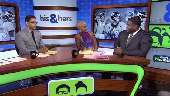 Josina Anderson goes bald on ESPN