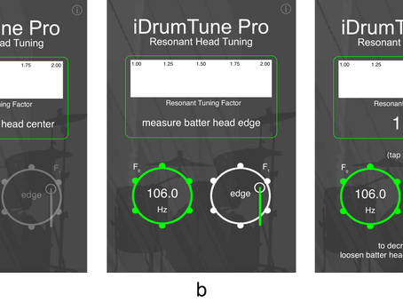 6. Tuning the Resonant Drumhead – What, Why and How?
