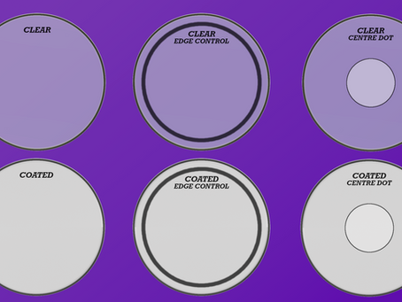 8. The Wonderful World of Drumheads!