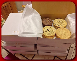 Boxed variety homestyle cookies
