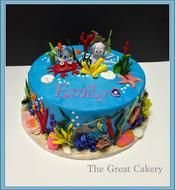 Under the sea layer cake