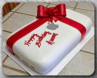 Macbook carved cake