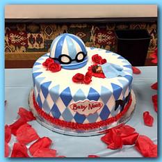 Kentucky Derby baby shower cake