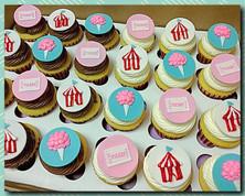 Carnival/Circus cupcakes