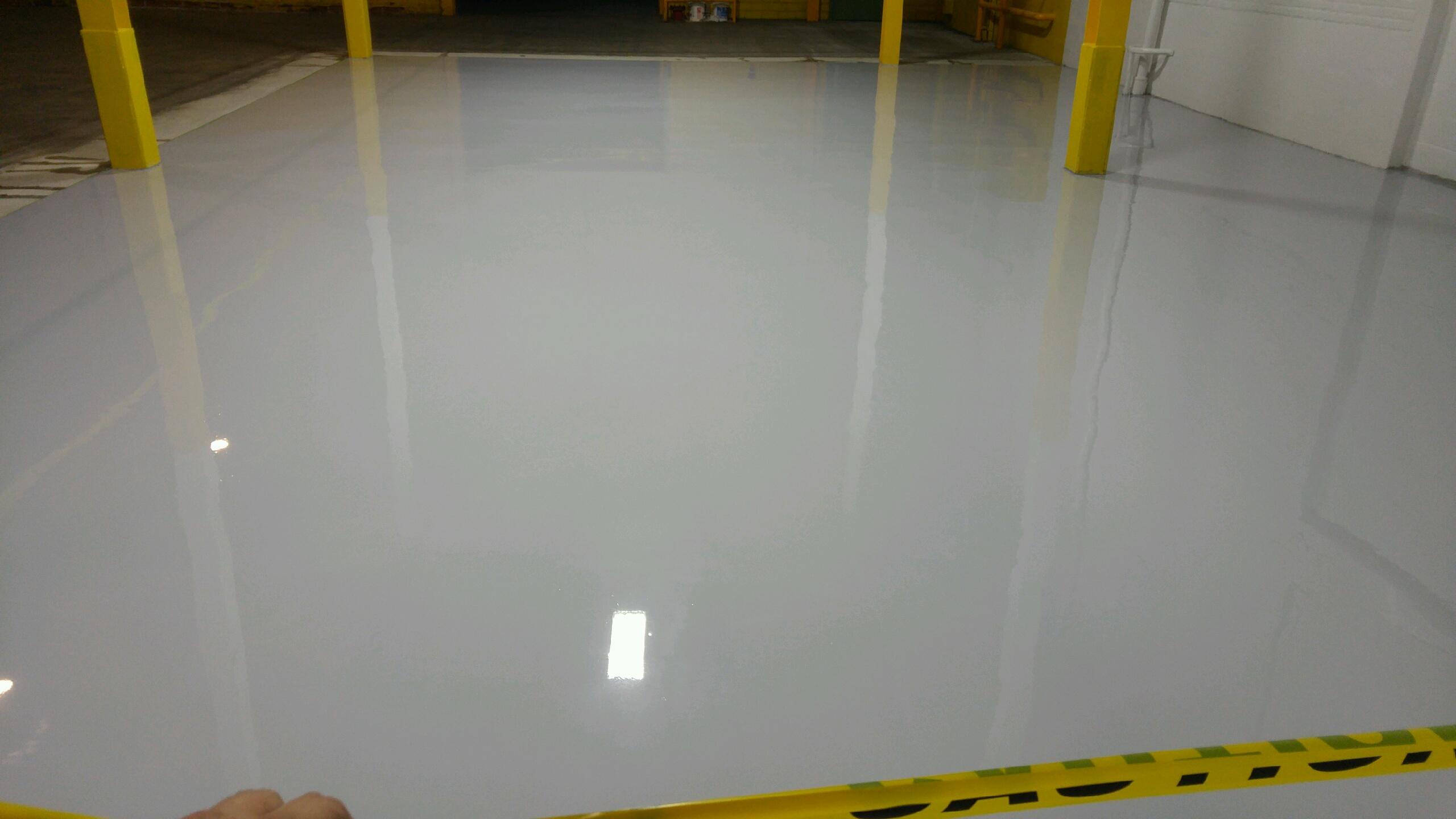 Époxy gris - usine Mtl