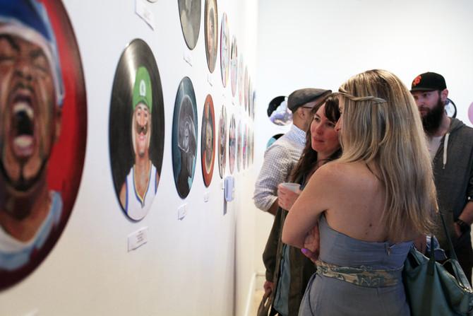 Vinyl Opening Reception