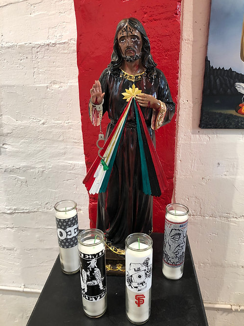 The Black Jesus Statue