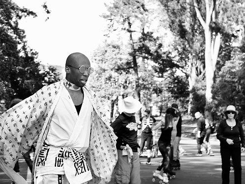 Roller Samurai. San Francisco.
