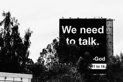 Let's talk. Manila