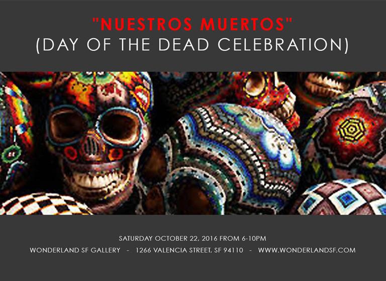 """""""Nuestros Muertos"""" (day of the dead celebration)"""