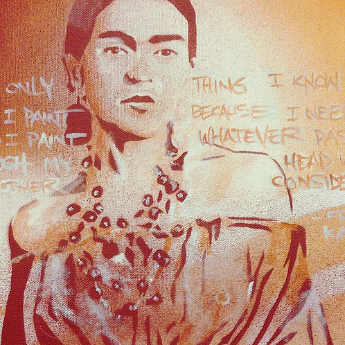 "'Frida's Words"" - SOLD"