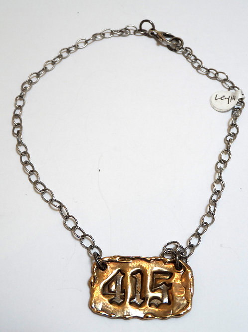 415 necklace by Leyla