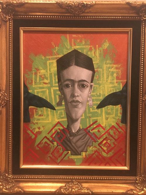 """Kahlo Bird"""