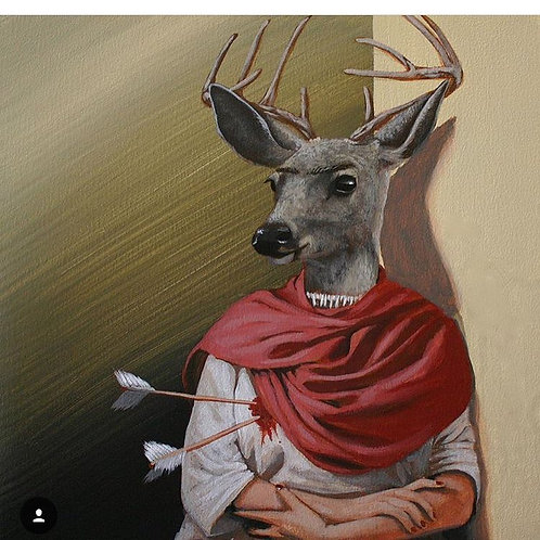 """""""The Wounded Deer"""""""