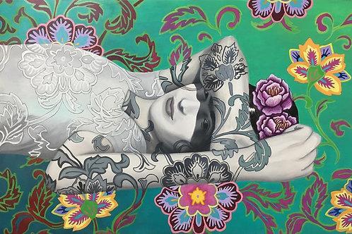 """Frida's Garden"" - SOLD"