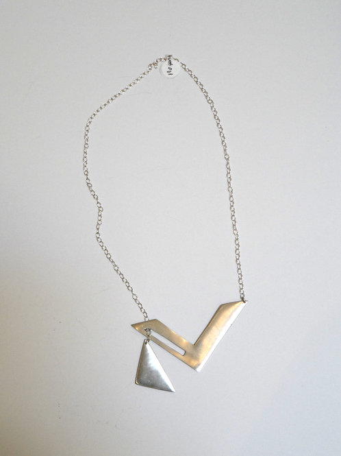 Triangle necklace by Mariana
