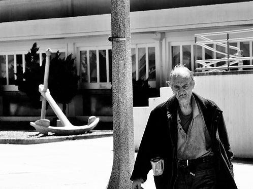 The fisherman. San Francisco.