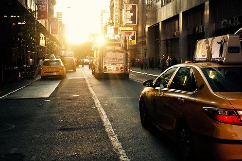 Yellow, Yellow. New York city.